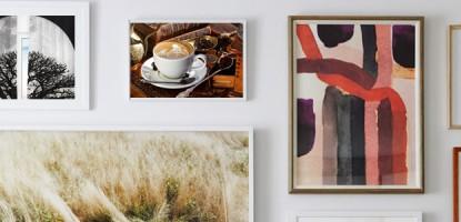 13 فكرة لتعليق اللوحات بالمنزل