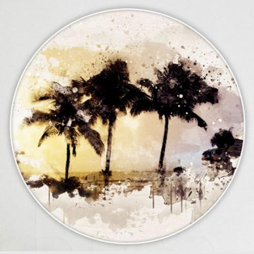 لوحات دائرية