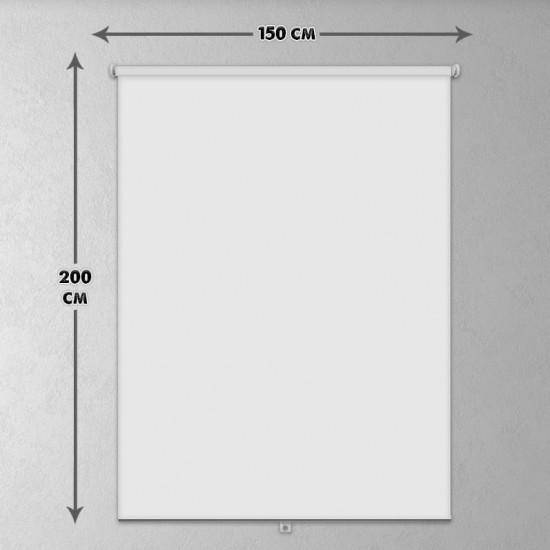 ستارة نافذة رول ثلاثية الابعاد عازله للضوء مقاس 150X200cm موديل رقم RC-157