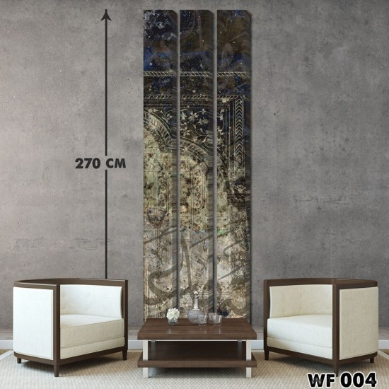 ديكور جداري ثلاثي  WF 004