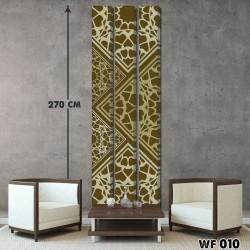 ديكور جداري ثلاثي  WF 010