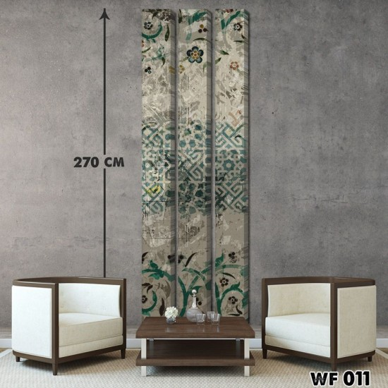 ديكور جداري ثلاثي  WF 011