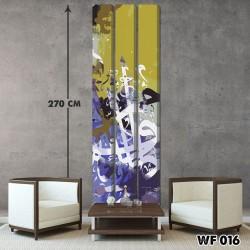 ديكور جداري ثلاثي  WF 016