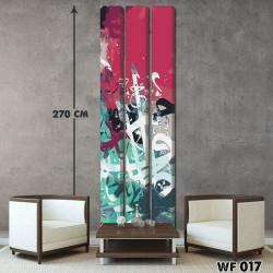ديكور جداري ثلاثي  WF 017
