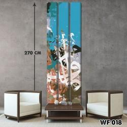 ديكور جداري ثلاثي  WF 018