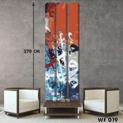 ديكور جداري ثلاثي  WF 019