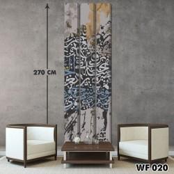 ديكور جداري ثلاثي  WF 020