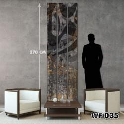 ديكور جداري ثلاثي  WF 035