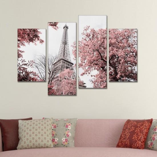 SV 115 لوحة جدارية مقسمة الى 4 قطع مطبوعة على خامة الكاتفاس ومشدودة على اطارات خشبية ، الحجم الكلي 150 في 100 سم موديل